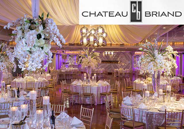 Chateau Briand Caterers, Banner.