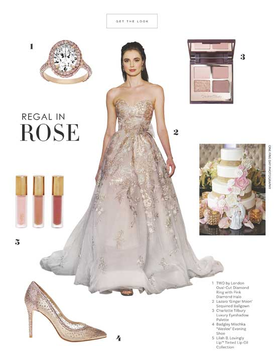 Regal in Rose, Style File
