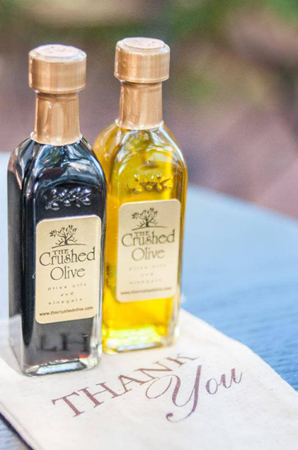The Crushed Olive Long Island Wedding Party Favors