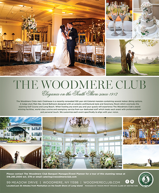 Ceremony Reception Location: The Woodmere Club -Long Island Wedding Reception And
