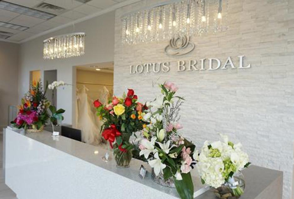 Lotus Bridal Long Island Wedding Attire