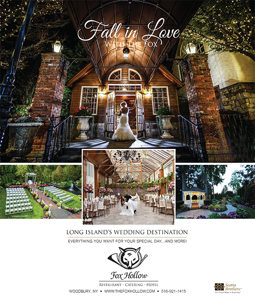 Ceremony Reception Location: Fox Hollow Caterers Long Island Wedding Reception And