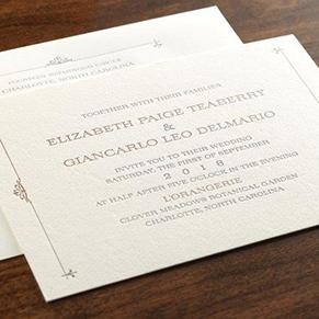 have you heard inc long island wedding invitations With wedding invitation calligraphy long island