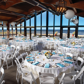 Long Island Wedding - Reception Locations - The Pavilion at Sunken Meadow - Lessing